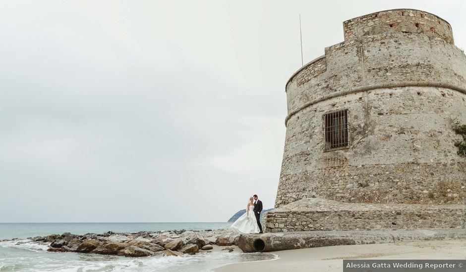 Il matrimonio di Alessandro e Francesca a Alassio, Savona