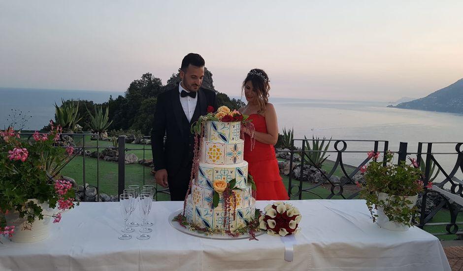 Il matrimonio di Luigi e Antonella a Maiori, Salerno