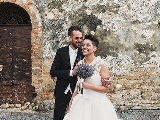 Le nozze di Serena e Carlo