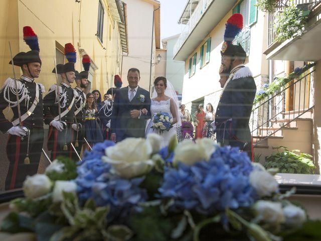 Il matrimonio di Simone e Eleonora a Cascia, Perugia 9