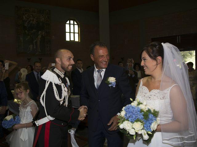 Il matrimonio di Simone e Eleonora a Cascia, Perugia 11