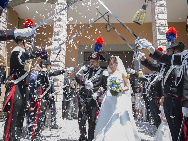 Il matrimonio di Simone e Eleonora a Cascia, Perugia 28
