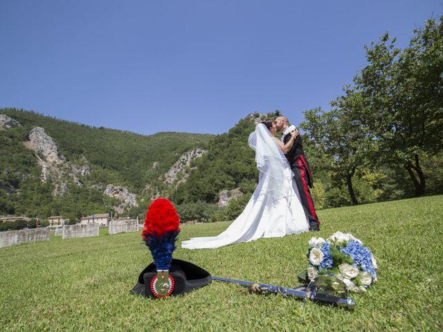 Il matrimonio di Simone e Eleonora a Cascia, Perugia 32