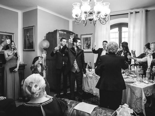 Il matrimonio di Riccardo e Giulia a Gropello Cairoli, Pavia 46