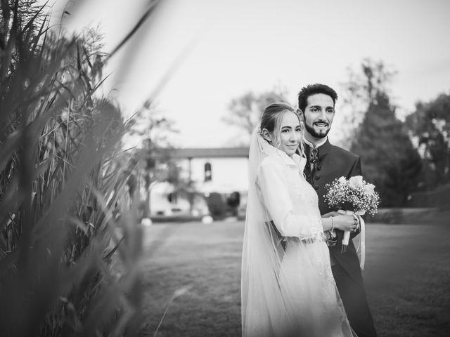 Il matrimonio di Riccardo e Giulia a Gropello Cairoli, Pavia 75
