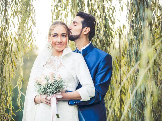 Il matrimonio di Riccardo e Giulia a Gropello Cairoli, Pavia 79