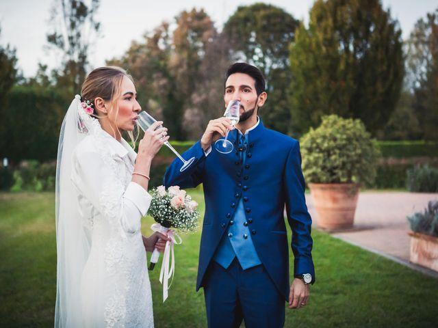 Il matrimonio di Riccardo e Giulia a Gropello Cairoli, Pavia 92