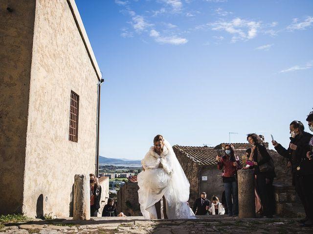 Il matrimonio di Andrea e Veronica a Castiglione della Pescaia, Grosseto 34