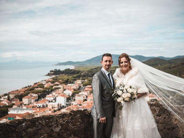 Il matrimonio di Andrea e Veronica a Castiglione della Pescaia, Grosseto 48