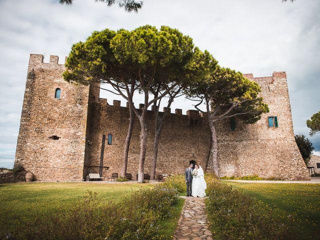 Il matrimonio di Andrea e Veronica a Castiglione della Pescaia, Grosseto 53