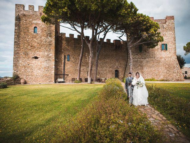 Il matrimonio di Andrea e Veronica a Castiglione della Pescaia, Grosseto 54