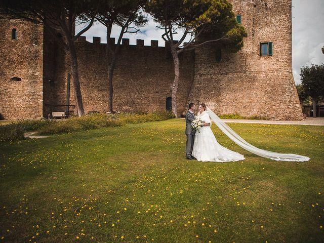Il matrimonio di Andrea e Veronica a Castiglione della Pescaia, Grosseto 55