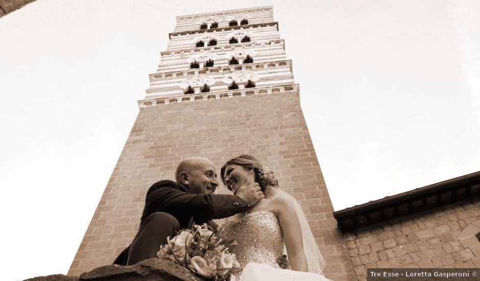 Il matrimonio di Fabio e Camelia a Viterbo, Viterbo