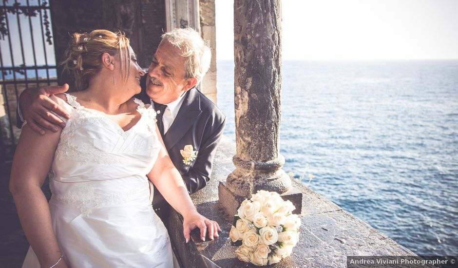 Il matrimonio di Giuliano e Roberta a Arcola, La Spezia