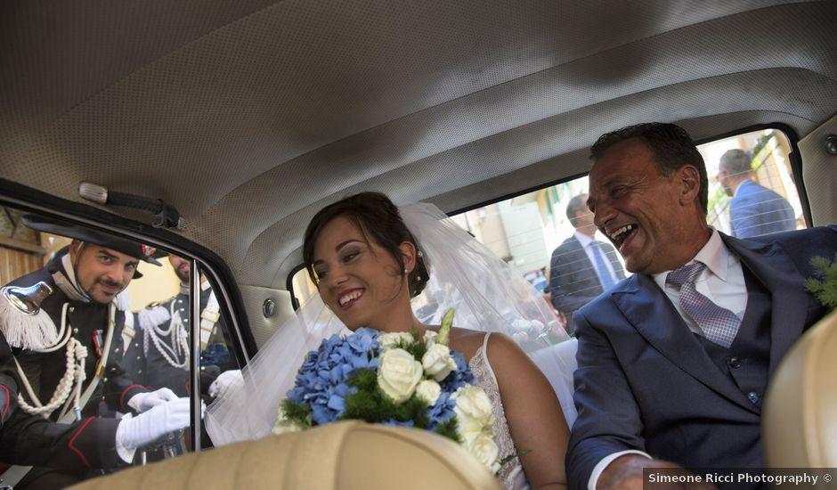 Il matrimonio di Simone e Eleonora a Cascia, Perugia