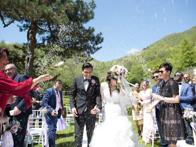 Il matrimonio di Brajand e Yael a Borgo San Lorenzo, Firenze 18