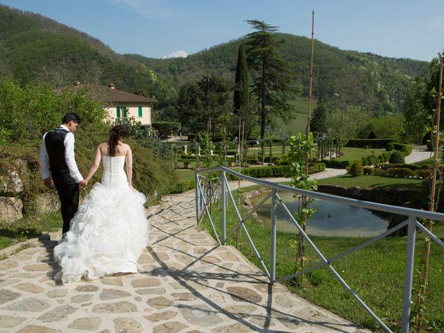Il matrimonio di Brajand e Yael a Borgo San Lorenzo, Firenze 45