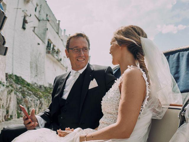 Il matrimonio di Nicolas e Nathalie a Ostuni, Brindisi 16