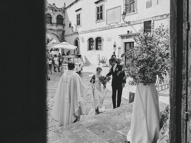 Il matrimonio di Nicolas e Nathalie a Ostuni, Brindisi 17