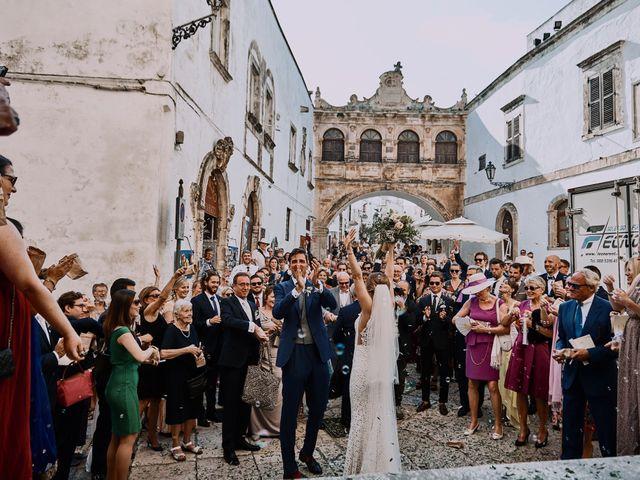 Il matrimonio di Nicolas e Nathalie a Ostuni, Brindisi 24
