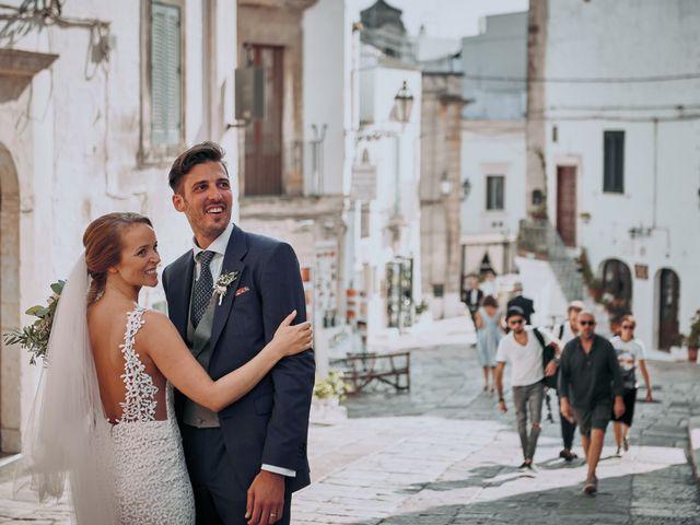 Il matrimonio di Nicolas e Nathalie a Ostuni, Brindisi 28