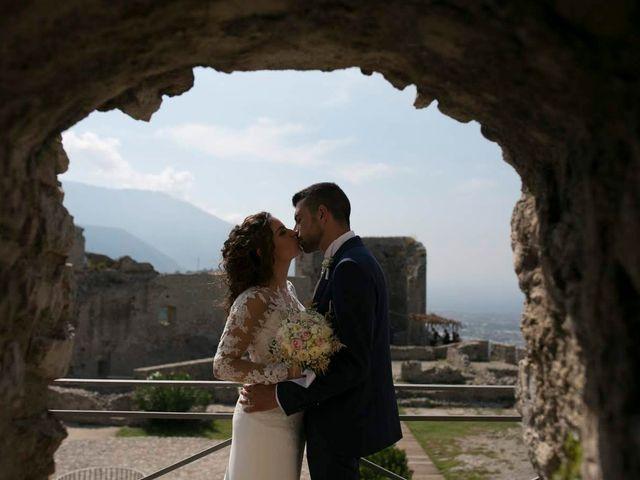 Il matrimonio di Antonio e Anna a Lettere, Napoli 2