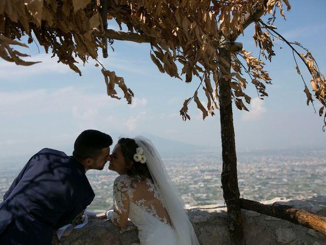 Il matrimonio di Antonio e Anna a Lettere, Napoli 6