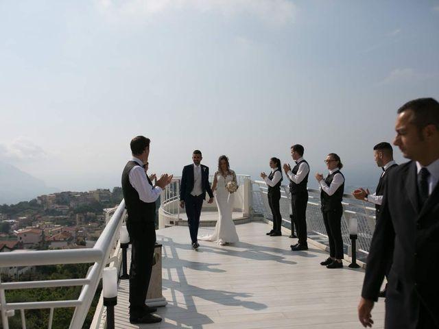 Il matrimonio di Antonio e Anna a Lettere, Napoli 16