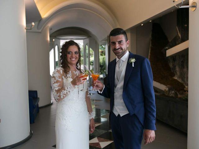 Il matrimonio di Antonio e Anna a Lettere, Napoli 19