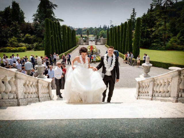 Il matrimonio di Luca e Daniela a Trescore Balneario, Bergamo 46