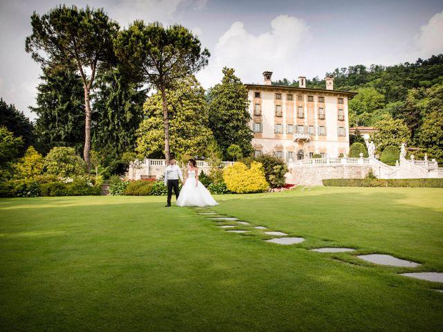 Il matrimonio di Luca e Daniela a Trescore Balneario, Bergamo 61
