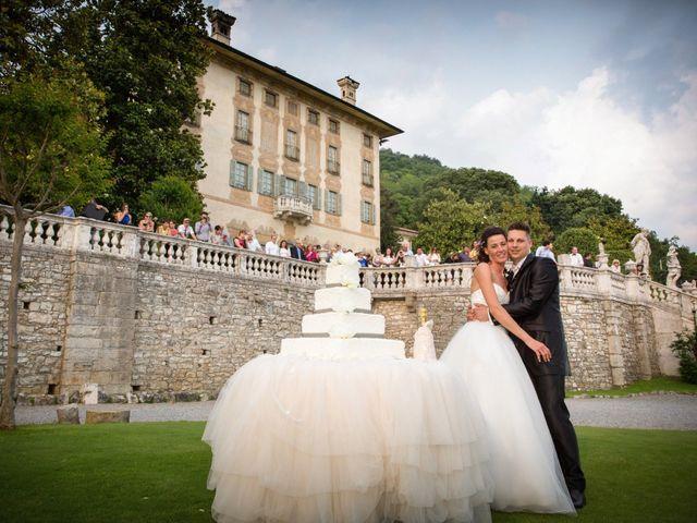 Il matrimonio di Luca e Daniela a Trescore Balneario, Bergamo 68