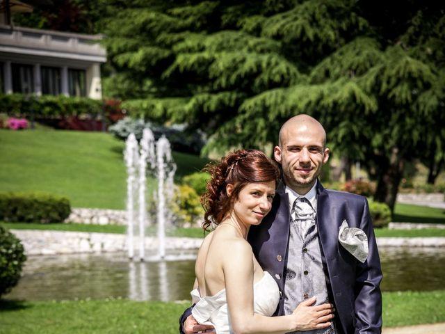 Il matrimonio di Matteo e Cristina a Villa di Serio, Bergamo 16