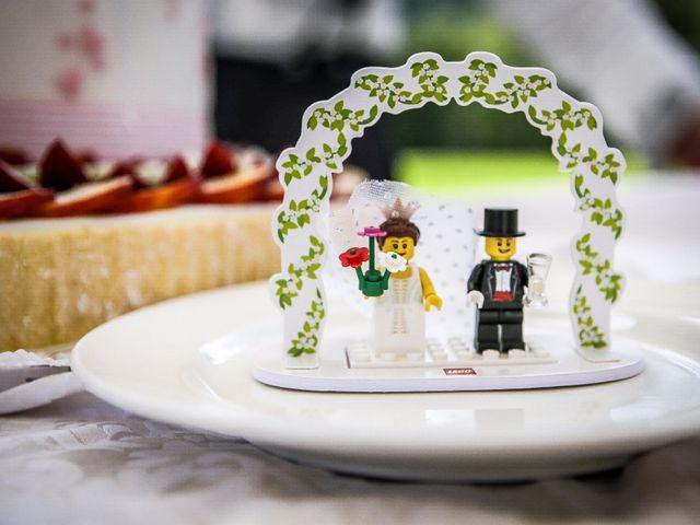Il matrimonio di Matteo e Cristina a Villa di Serio, Bergamo 31