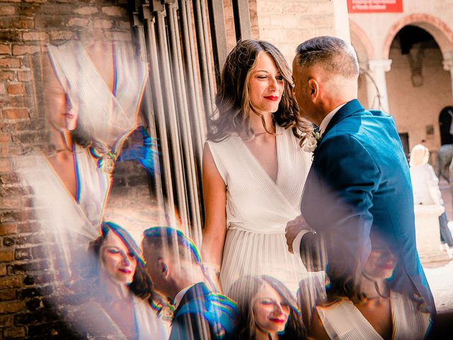 Il matrimonio di Osvaldo e Valentina a Comacchio, Ferrara 28
