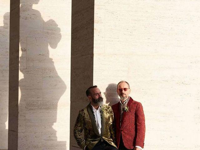 Il matrimonio di Nicola e Francesco a Roma, Roma 1