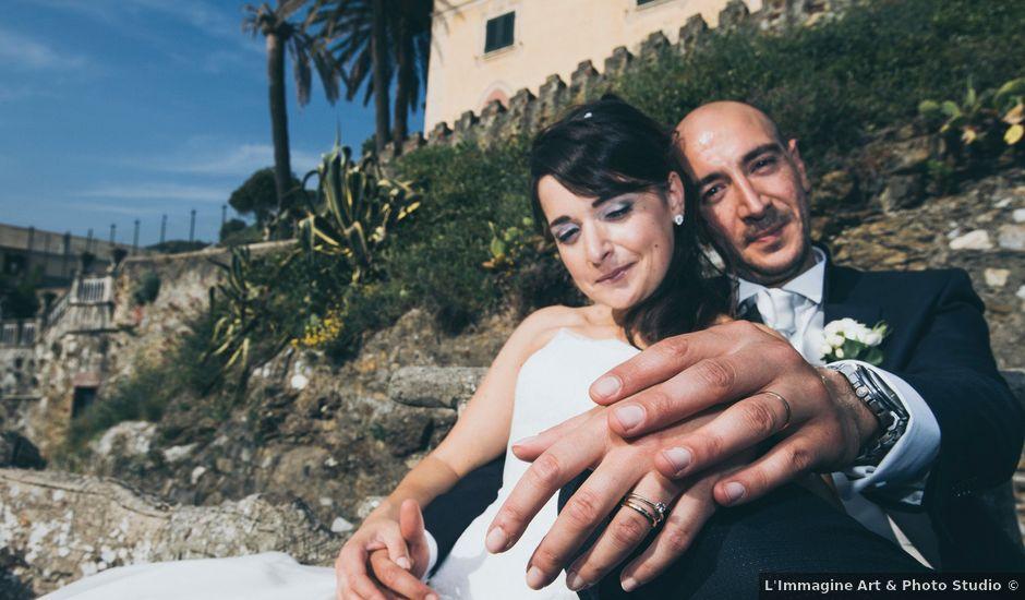 Il matrimonio di Simone e Cristina a Sestri Levante, Genova