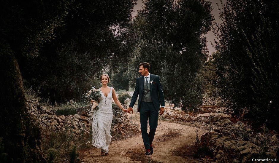 Il matrimonio di Nicolas e Nathalie a Ostuni, Brindisi