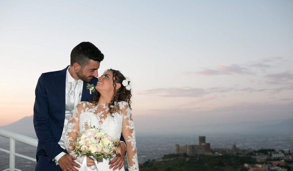 Il matrimonio di Antonio e Anna a Lettere, Napoli