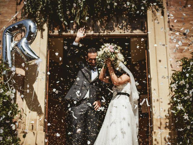 Il matrimonio di Andrea e Ramona a Serrungarina, Pesaro - Urbino 20