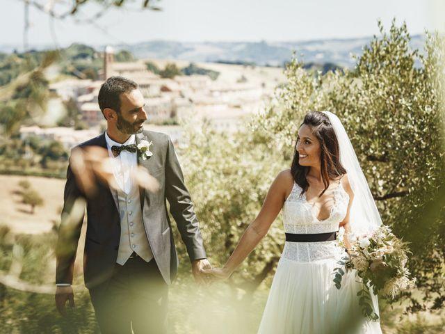 Il matrimonio di Andrea e Ramona a Serrungarina, Pesaro - Urbino 27