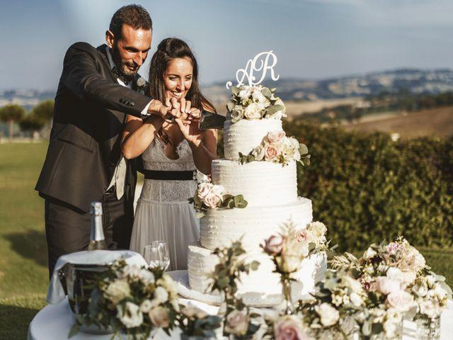 Il matrimonio di Andrea e Ramona a Serrungarina, Pesaro - Urbino 40