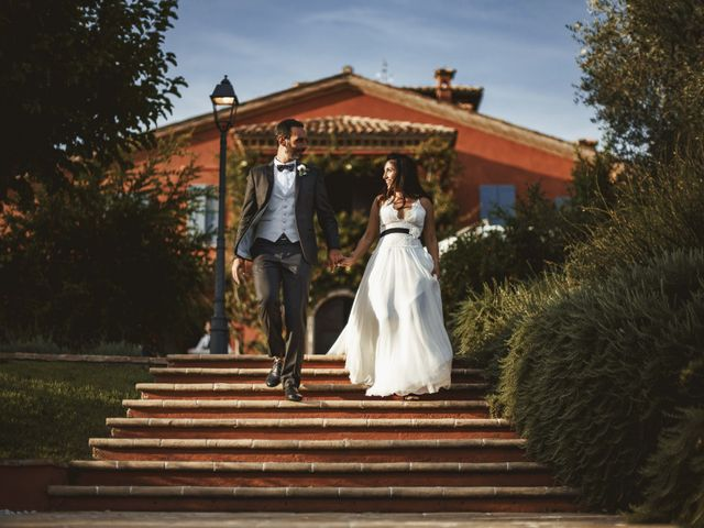 Il matrimonio di Andrea e Ramona a Serrungarina, Pesaro - Urbino 1