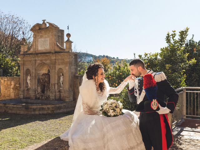 Il matrimonio di Angela e Giuseppe a Leonforte, Enna 4