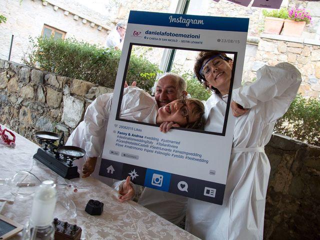 Il matrimonio di Andrea e Fanny a Sestri Levante, Genova 82