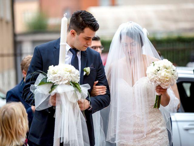 Il matrimonio di Stefano e Veronica a Abbadia Cerreto, Lodi 10