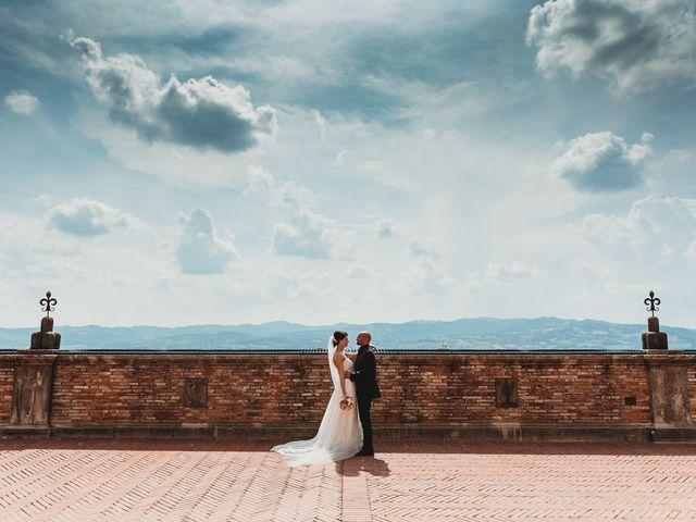 Il matrimonio di Leonardo e Silvia a Umbertide, Perugia 41