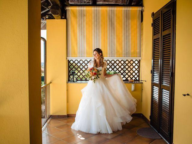 Il matrimonio di Andrea e Federica a Govone, Cuneo 9