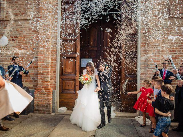 Il matrimonio di Andrea e Federica a Govone, Cuneo 16