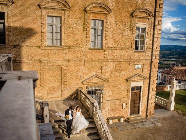 Il matrimonio di Andrea e Federica a Govone, Cuneo 23